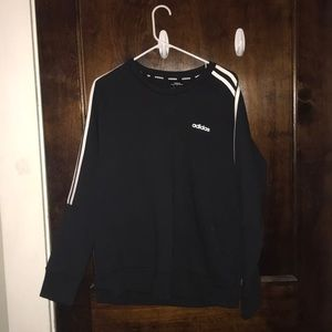 black adidas sweatshirt